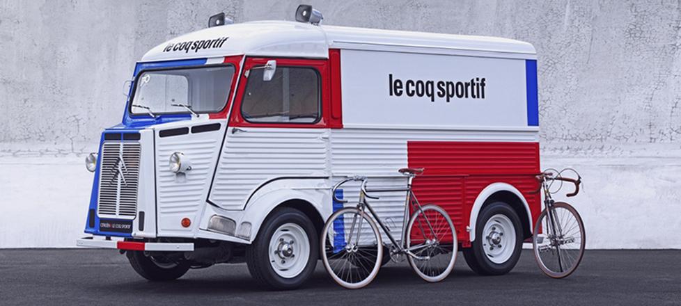 Citröen type H (1969) le Coq Sportif